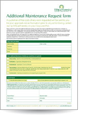 Ethical-Forestry-Additional-Maintenance-Request-Form